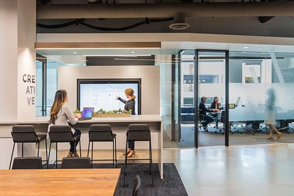 F+M designs big screens at Anaplan